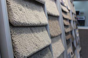 Solution-dyed nylon carpet sample